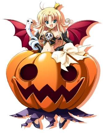 Halloween Wingedpumpkin