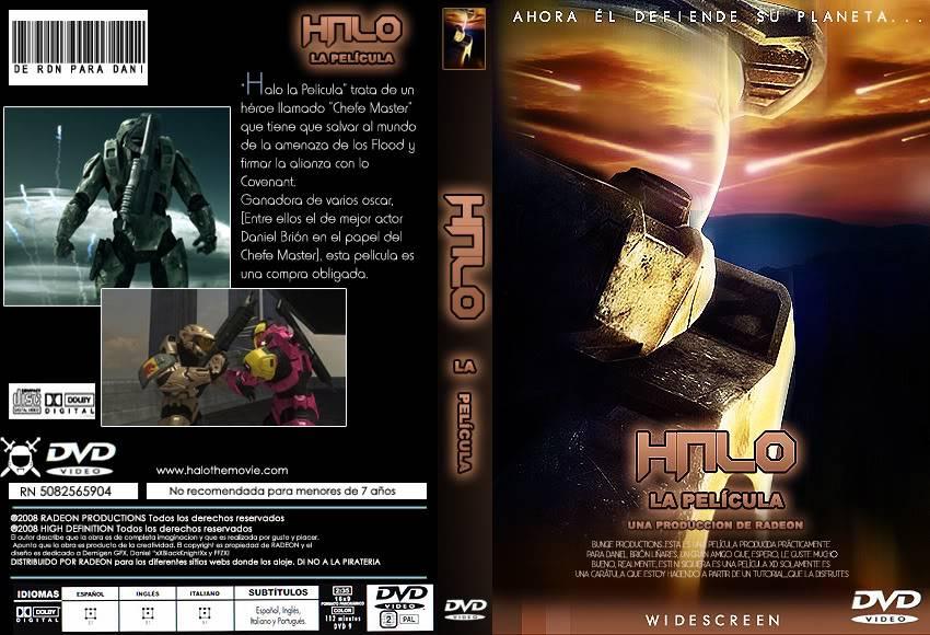 """""""Halo, La Película"""" CartulaHaloCOMPLETAcopia"""