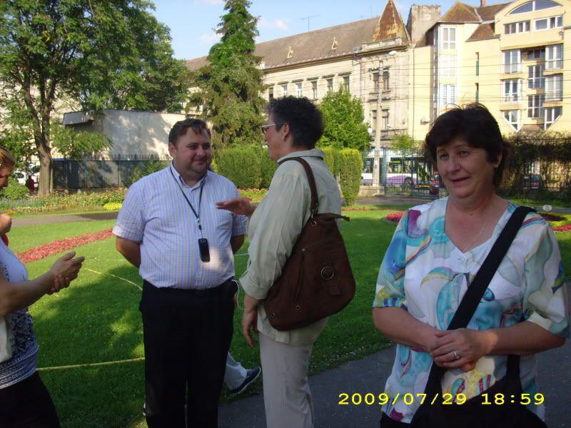 29 Iulie 2009 -Intalnirea cu prietenii din Timisoara CostelGyoongyiSilviana