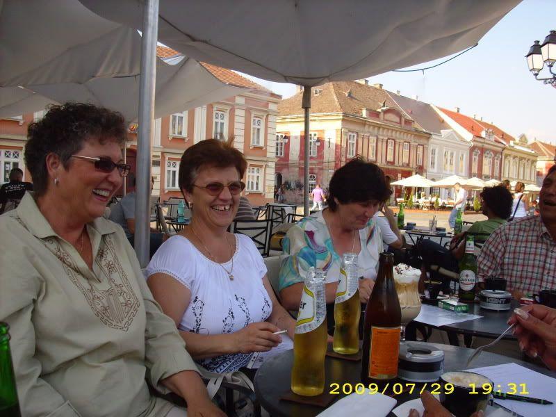 29 Iulie 2009 -Intalnirea cu prietenii din Timisoara VeselieinPiataUnirii