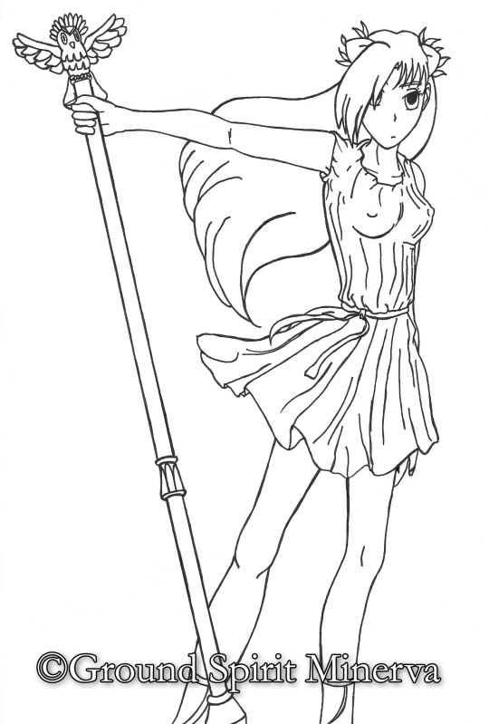 Mis dibujos Minervaromanaparavideosincolor