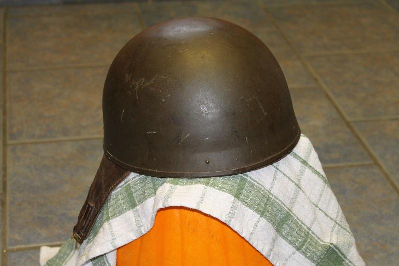 Canadian MkIII helmets, British Dispatch rider's helmet, MkI AB 805 helmet 031
