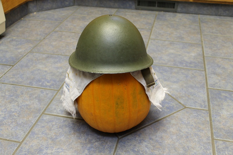 Canadian MkIII helmets, British Dispatch rider's helmet, MkI AB 805 helmet IMG_1798