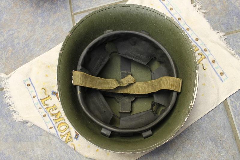 Canadian MkIII helmets, British Dispatch rider's helmet, MkI AB 805 helmet IMG_1800
