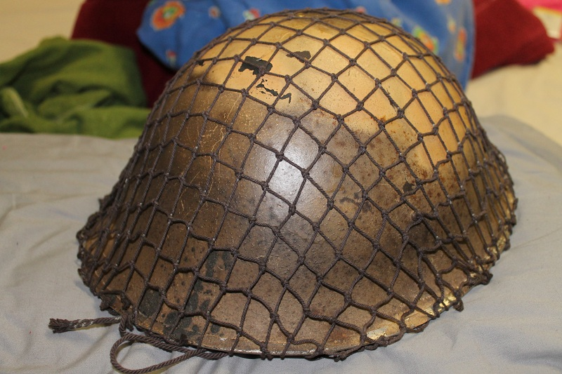 Canadian MkIII helmets, British Dispatch rider's helmet, MkI AB 805 helmet IMG_1835_zps4c697ff8