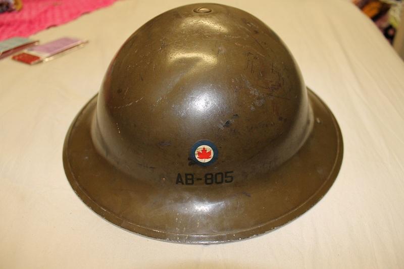 Canadian MkIII helmets, British Dispatch rider's helmet, MkI AB 805 helmet IMG_1837_zps82ccb468