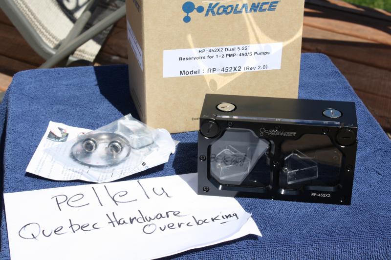 FS Réservoir Koolance RP-452 X2 rev 2.0 Rez1