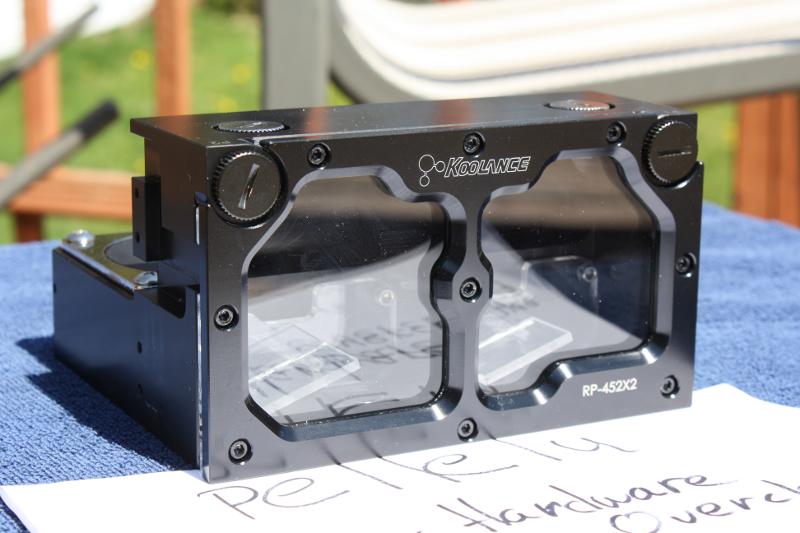 FS Réservoir Koolance RP-452 X2 rev 2.0 Rez3