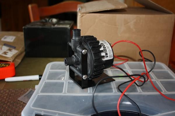 FS Dressing kit pour pompe D5 et réservoirs EK Swift
