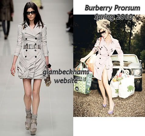 Glamour US Marzo 2010 Style Burberry