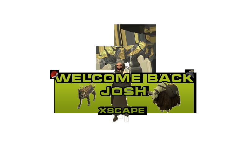 Welcome Back Josh WelcomeBack