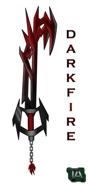 Una The Keyblade/Keyblade skills Keyblade___Darkfire_by_ZeroRaptor