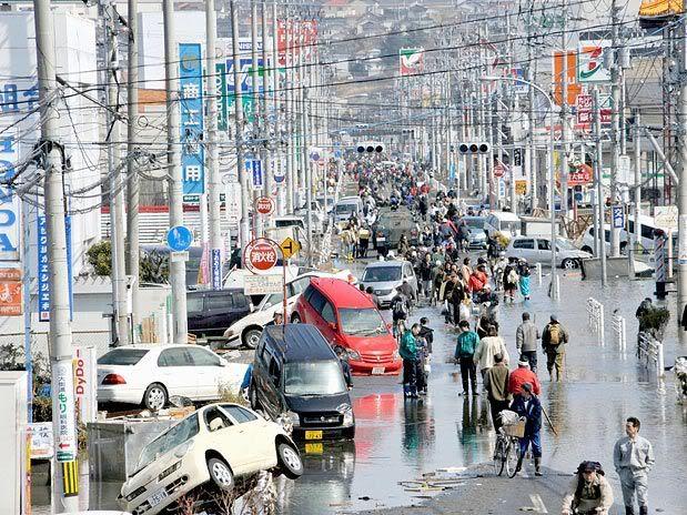 Imágenes de catástrofe en Japón 3
