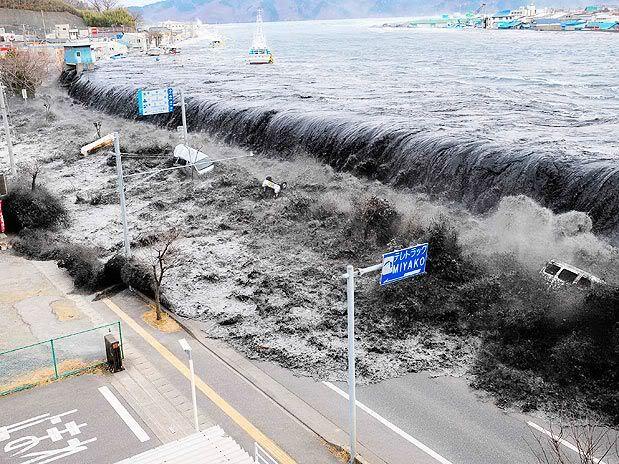 Imágenes de catástrofe en Japón Get1