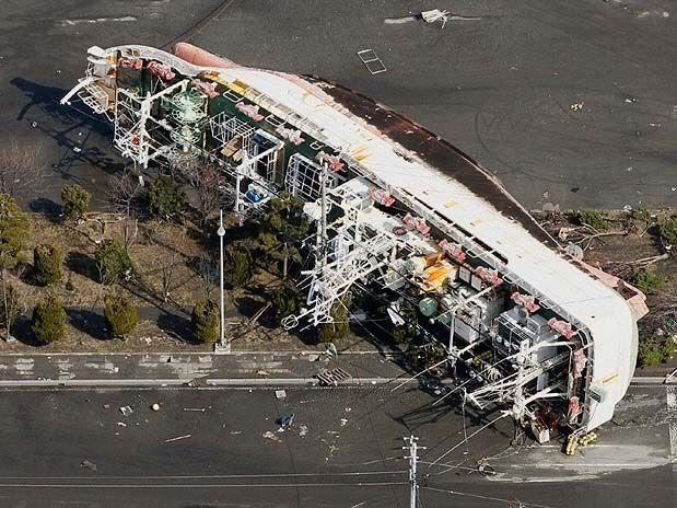 Imágenes de catástrofe en Japón Get4