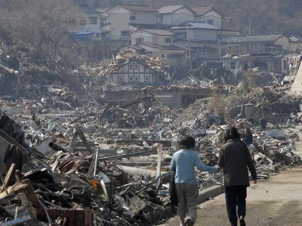 Imágenes de catástrofe en Japón I
