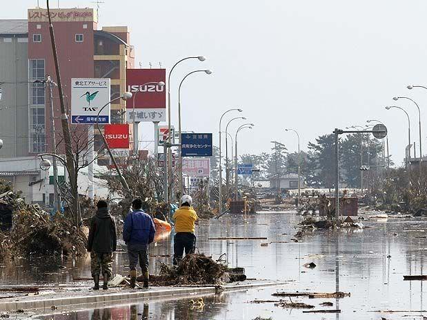 Imágenes de catástrofe en Japón U