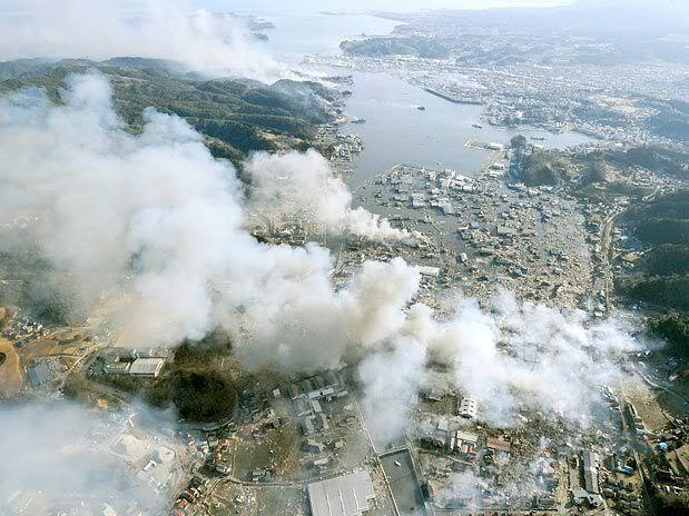 Imágenes de catástrofe en Japón W
