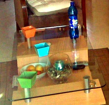 """Table basse type """"cocktail"""" (MEGA-DRIVE). Salon2"""