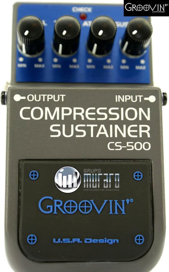 Groovin Compressor/sustainer Cs500 Cs2
