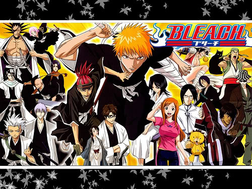 Cuales son Sus Animes preferidos Bleach