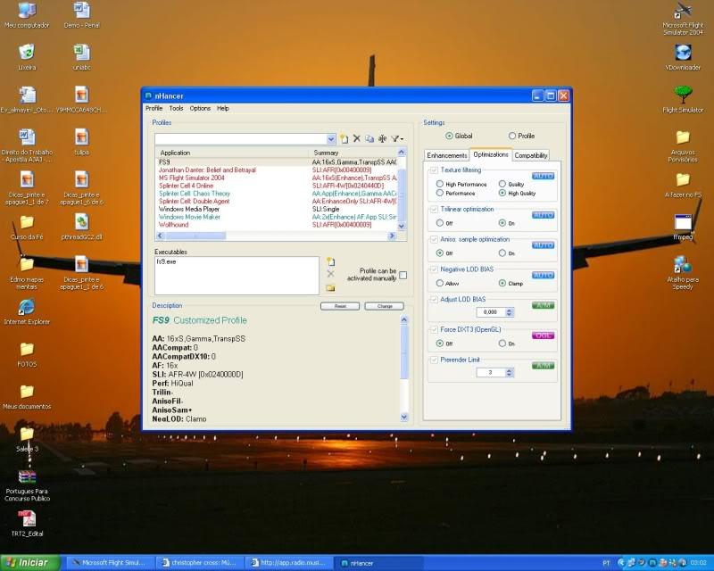 Configurando uma Placa Nvdia x Nhancer  - Mini Tutorial -2008-oct-19-021