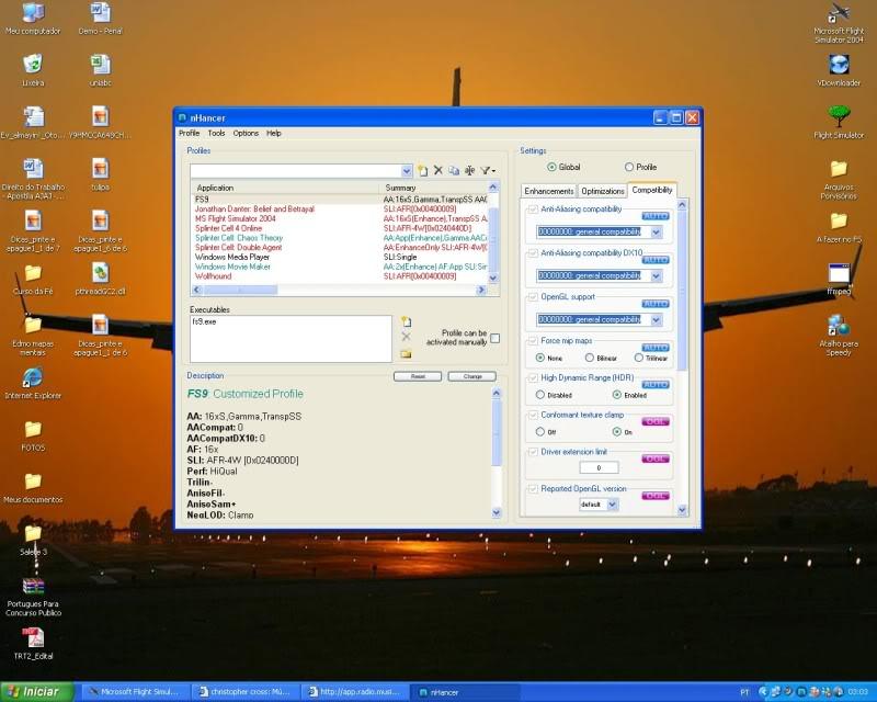 Configurando uma Placa Nvdia x Nhancer  - Mini Tutorial -2008-oct-19-022