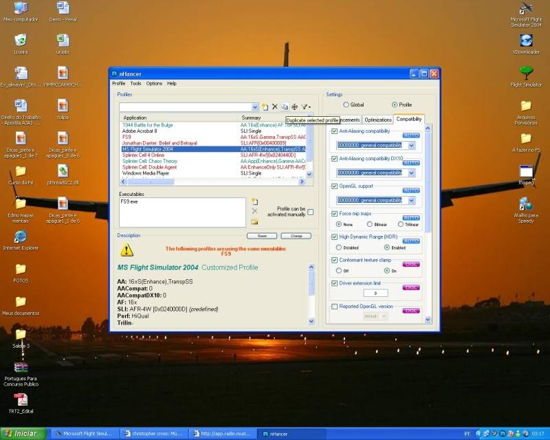 Configurando uma Placa Nvdia x Nhancer  - Mini Tutorial -2008-oct-19-032
