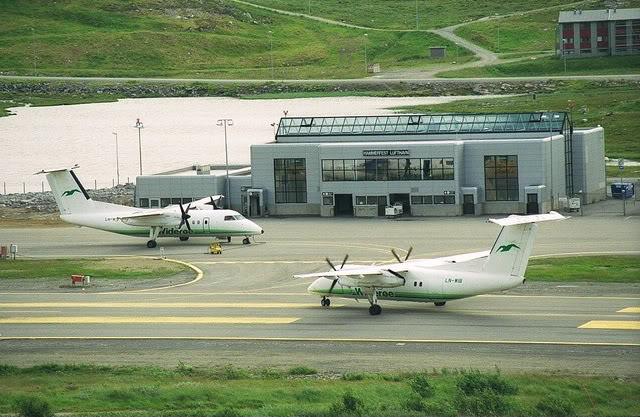 Hasvik - Hammerfest... com Cessna 182, Real x virtual , lindos cenarios ... Hammerfest1predio