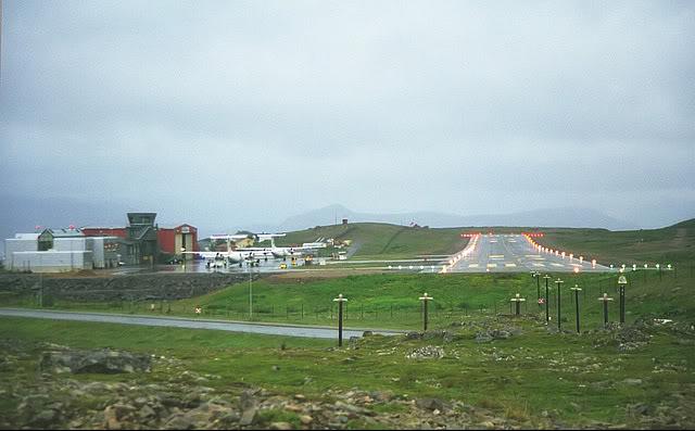 Hasvik - Hammerfest... com Cessna 182, Real x virtual , lindos cenarios ... Hammerfest3pista