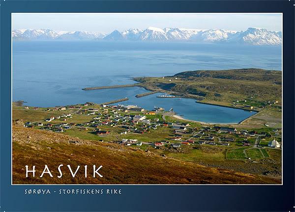 Hasvik - Hammerfest... com Cessna 182, Real x virtual , lindos cenarios ... Hasvik