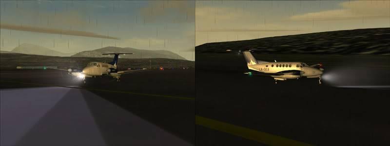 FS9 - TROMSO - HASVIK.aproximação fechada.. incrivel Sinistro x Beleza em um voo .... Montagem1copy
