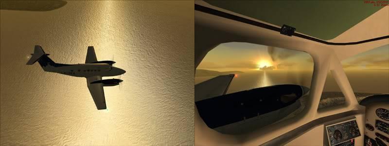 FS9 - TROMSO - HASVIK.aproximação fechada.. incrivel Sinistro x Beleza em um voo .... Montagem2copy