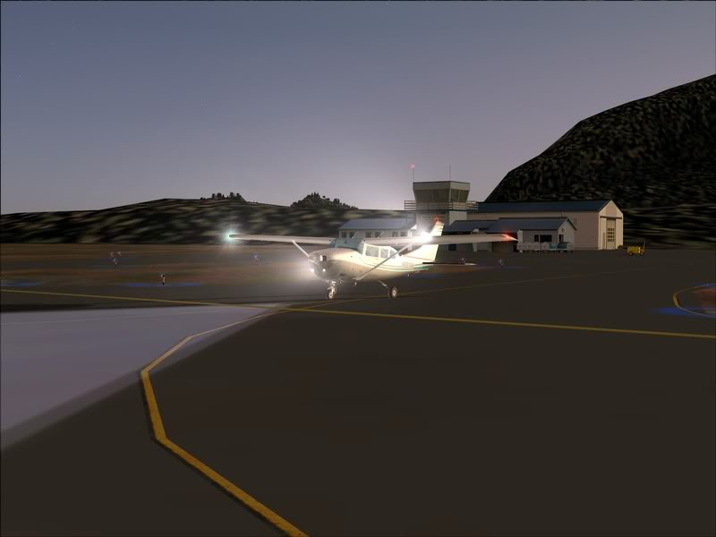 Hasvik - Hammerfest... com Cessna 182, Real x virtual , lindos cenarios ... Foto-2008-aug-15-003