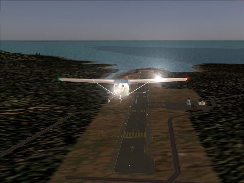 Hasvik - Hammerfest... com Cessna 182, Real x virtual , lindos cenarios ... Foto-2008-aug-15-005