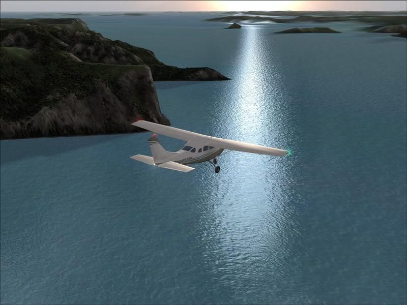 Hasvik - Hammerfest... com Cessna 182, Real x virtual , lindos cenarios ... Foto-2008-aug-15-008
