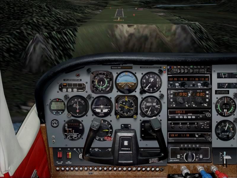 Hasvik - Hammerfest... com Cessna 182, Real x virtual , lindos cenarios ... Foto-2008-aug-15-012