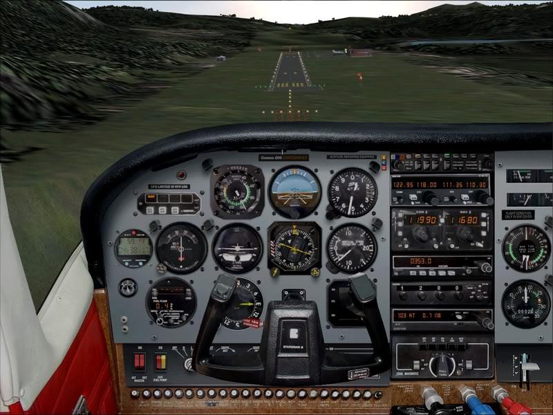 Hasvik - Hammerfest... com Cessna 182, Real x virtual , lindos cenarios ... Foto-2008-aug-15-013
