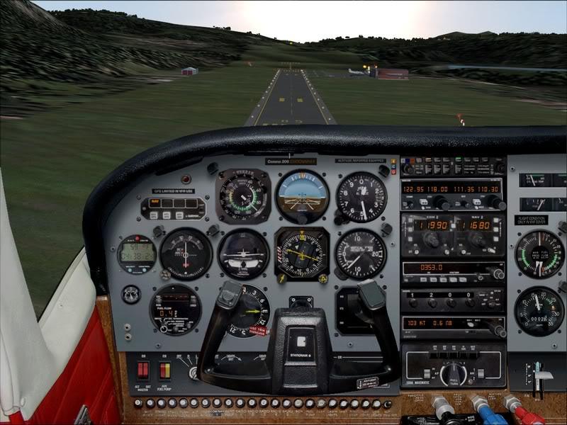 Hasvik - Hammerfest... com Cessna 182, Real x virtual , lindos cenarios ... Foto-2008-aug-15-014