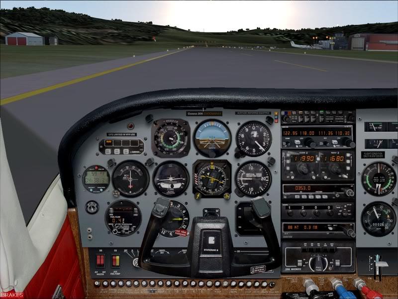 Hasvik - Hammerfest... com Cessna 182, Real x virtual , lindos cenarios ... Foto-2008-aug-15-015
