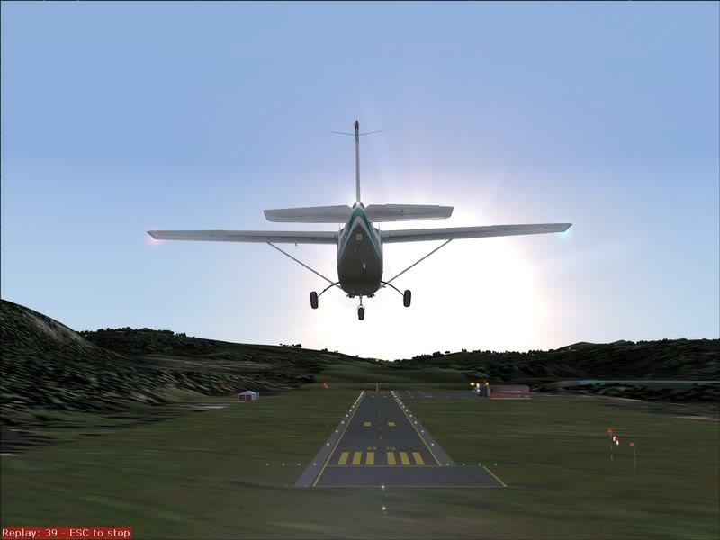 Hasvik - Hammerfest... com Cessna 182, Real x virtual , lindos cenarios ... Foto-2008-aug-15-016