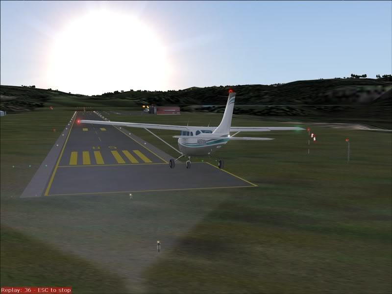 Hasvik - Hammerfest... com Cessna 182, Real x virtual , lindos cenarios ... Foto-2008-aug-15-017