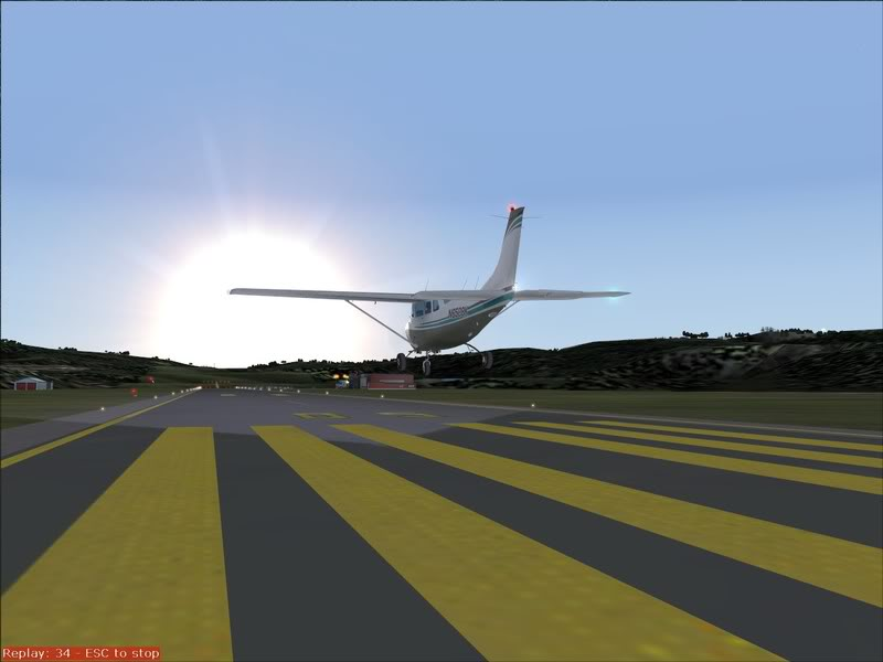 Hasvik - Hammerfest... com Cessna 182, Real x virtual , lindos cenarios ... Foto-2008-aug-15-019