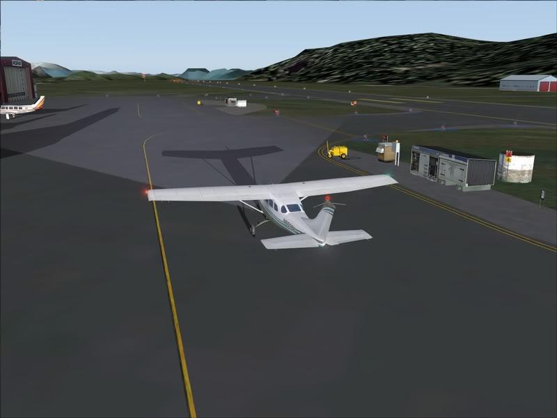 Hasvik - Hammerfest... com Cessna 182, Real x virtual , lindos cenarios ... Foto-2008-aug-15-022