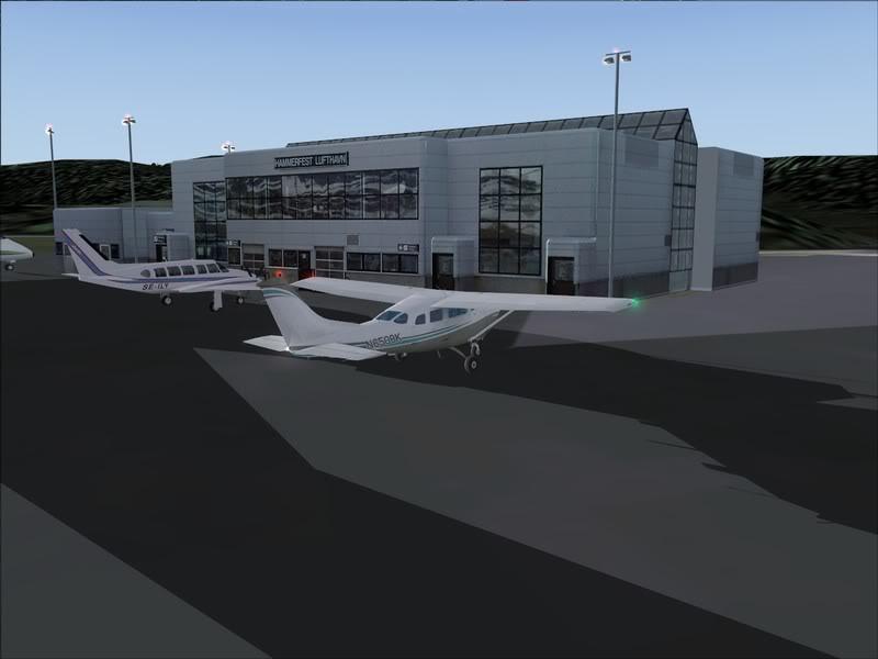 Hasvik - Hammerfest... com Cessna 182, Real x virtual , lindos cenarios ... Foto-2008-aug-15-023