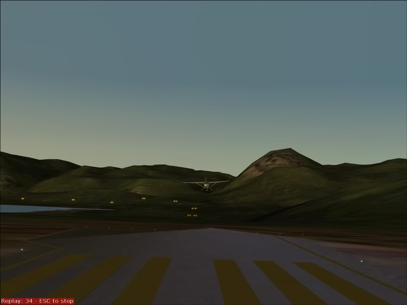 Aproximação em Curva , para Honningsvag...,uma aproximação diferente ... Foto-2008-aug-15-060