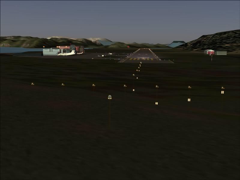 Hasvik - Hammerfest... com Cessna 182, Real x virtual , lindos cenarios ... Foto-2008-aug-15-066