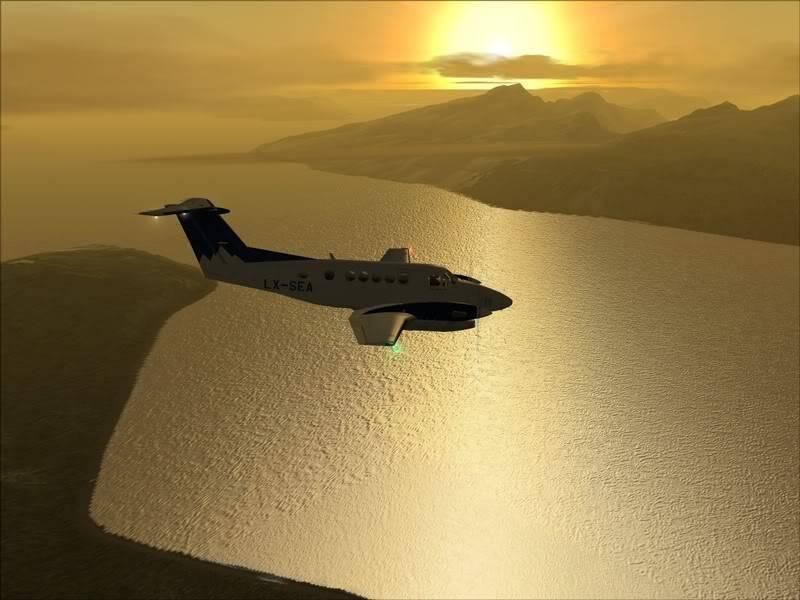 FS9 - TROMSO - HASVIK.aproximação fechada.. incrivel Sinistro x Beleza em um voo .... Foto-2008-aug-3-020