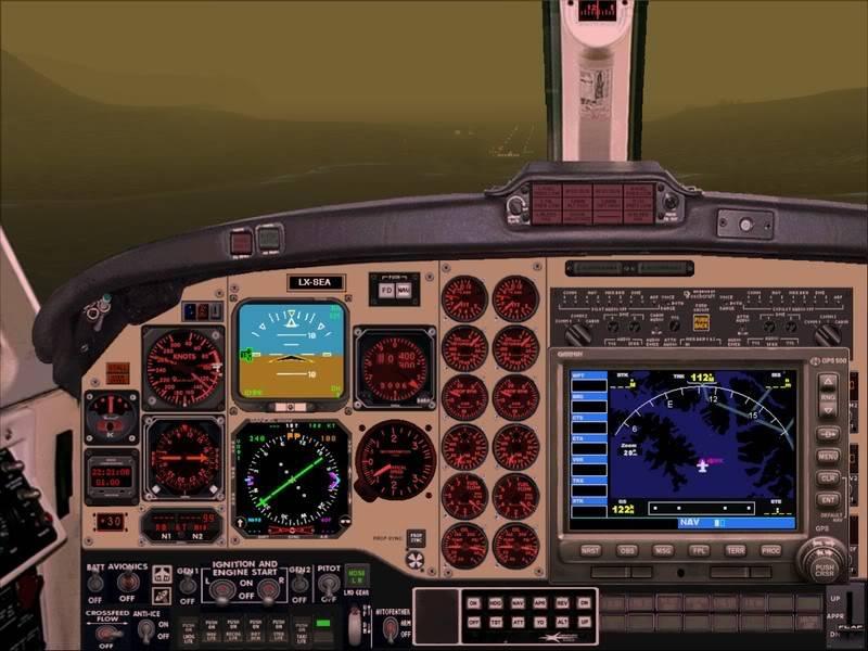 FS9 - TROMSO - HASVIK.aproximação fechada.. incrivel Sinistro x Beleza em um voo .... Foto-2008-aug-3-030