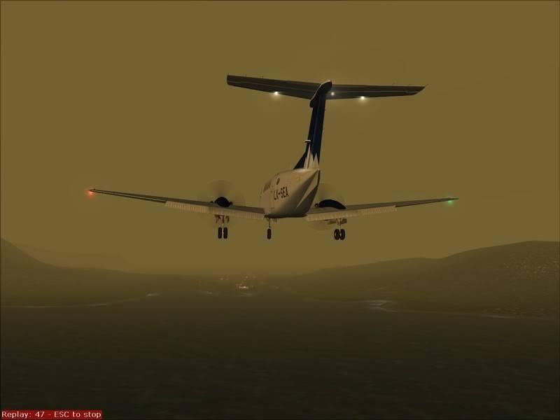 FS9 - TROMSO - HASVIK.aproximação fechada.. incrivel Sinistro x Beleza em um voo .... Foto-2008-aug-3-032